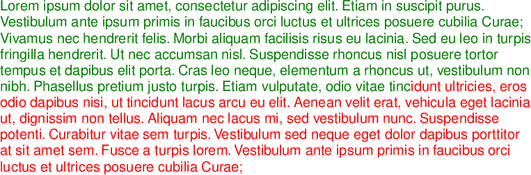 Text in PDFKit